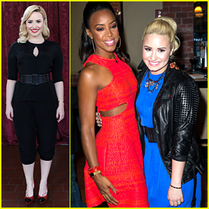 Demi Lovato & Kelly Rowland: 'X Factor' Long Island Auditions!