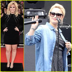 Demi Lovato - MuchMusic Video Awards 2013 Red Carpet