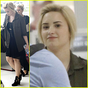 Demi Lovato: 'X Factor' Auditions in New Orleans!