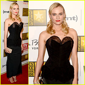 Diane Kruger - Critics' Choice TV Awards 2013 Red Carpet
