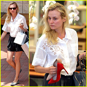 Diane Kruger: Shoe Shopping at Neiman Marcus!