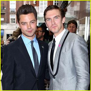 Dominic Cooper & Dan Stevens: 'Summer in February' Gala!