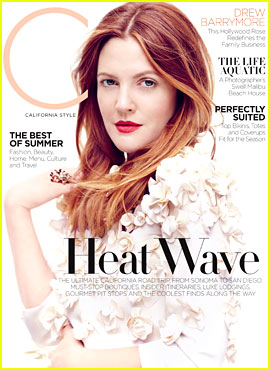 Drew Barrymore Covers 'C' Magazine's Summer 2013 Issue!