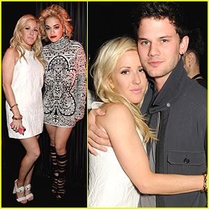 Ellie Goulding & Jeremy Irvine: Chime for Change After Party!