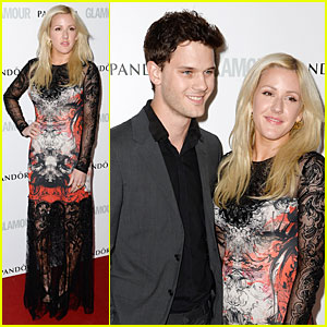 Ellie Goulding & Jeremy Irvine - Glamour Women of the Year Awards 2013 Red Carpet