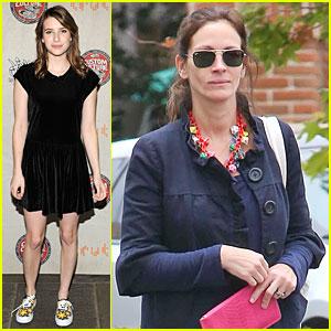 Emma Roberts Promotes Vans Before Aunt Julia Roberts Shops Theodore Man!