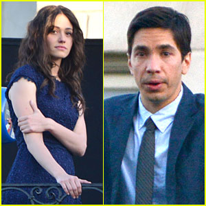 Emmy Rossum: 'Comet' Emotional Scenes with Justin Long!