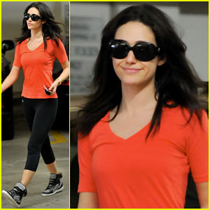 Emmy Rossum: I Had So Much Fun at the Variety Studio!