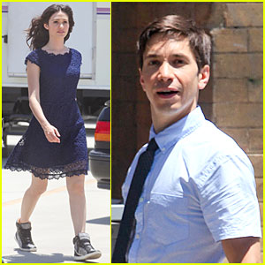 Emmy Rossum: Justin Long Makes Me Laugh Too Much on 'Comet'!