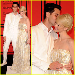Gabe Saporta & Erin Fetherston: Newlyweds at CFDA Fashion Awards 2013!
