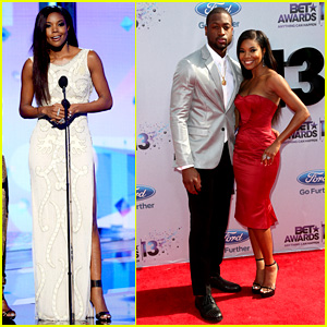 Gabrielle Union & Dwyane Wade - BET Awards 2013 Red Carpet