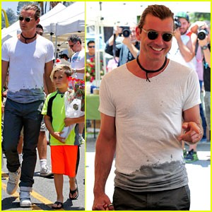 Gavin Rossdale: Father's Day with Kingston & Zuma!