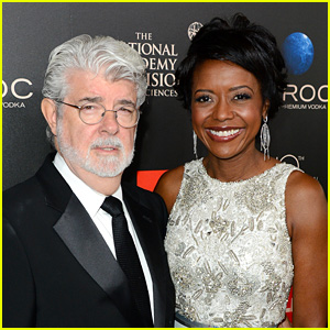 'Star Wars' Creator George Lucas Marries Mellody Hobson