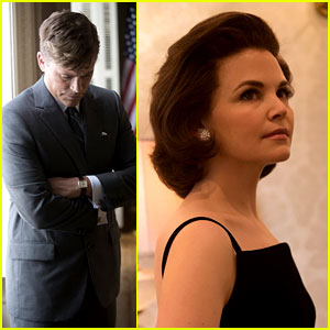 Ginnifer Goodwin & Rob Lowe as the Kennedys - First Look!