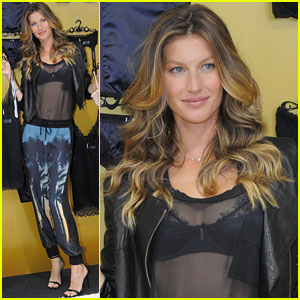 Gisele Bundchen Launches Her New Lingerie Line in Brazil