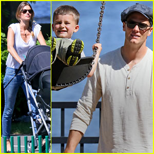 Gisele Bundchen & Tom Brady: Park Day with Benjamin & Vivian!
