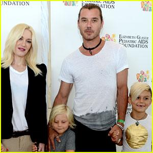 Gwen Stefani & Gavin Rossdale: EGPAF 'A Time for Heroes' Event