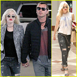 Gwen Stefani & Gavin Rossdale Hold Hands Before Father's Day!