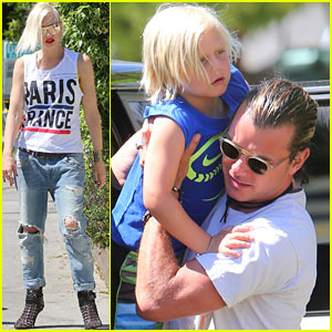 Gwen Stefani & Gavin Rossdale: Ice Cream with the Kids!