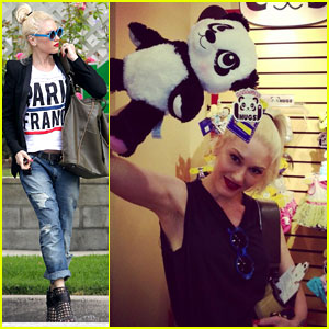 Gwen Stefani Runs Errands After Build-a-Bear Day with the Boys