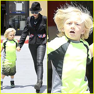 Gwen Stefani & Zuma: Pet Supplies Shopping Duo!