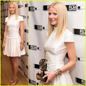 Gwyneth Paltrow: Gene Siskel Film Center Gala Honoree!