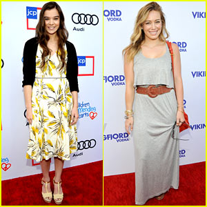 Hailee Steinfeld & Hilary Duff: Children Mending Hearts Style Sunday