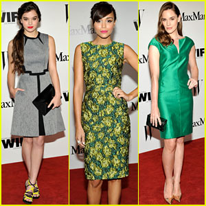 Hailee Steinfeld: Max Mara Cocktail Party Celebration!