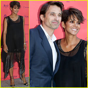 Halle Berry & Olivier Martinez: Toiles Enchantees Event at Champs-Elysees Film Festival