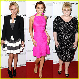 Hayden Panettiere & Rebel Wilson - Glamour Women of the Year Awards 2013 Red Carpet