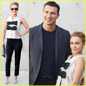 Hayden Panettiere & Wladimir Klitschko: Giorgio Armani Fashion Show