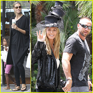 Heidi Klum: B-Day Celebration with Martin Kirsten and the Kids!