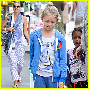 Heidi Klum: Nobu Dinner with the Kids!