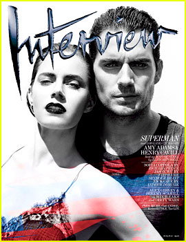 Henry Cavill & Amy Adams Cover 'Interview' June/July 2013