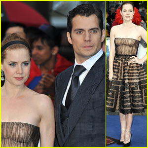 Henry Cavill & Amy Adams: 'Man of Steel' UK Premiere!
