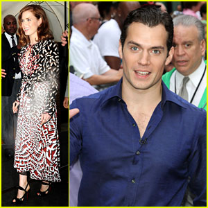 Henry Cavill & Amy Adams: Talk Show Appearances in NYC!