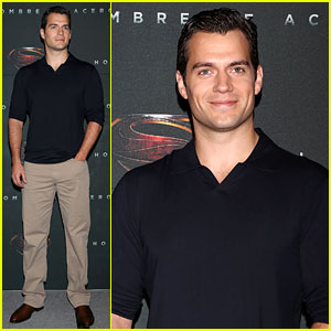 Henry Cavill: 'Man of Steel' Mexico City Photo Call!