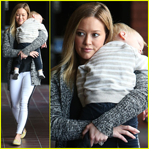 Hilary Duff: I Just Love Peonies!