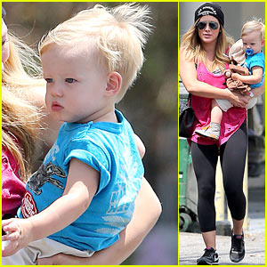 Hilary Duff: Luca's the Sweetest Boy I Ever Met!