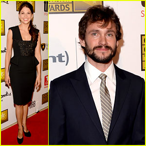 Hugh Dancy & Sutton Foster - Critics' Choice TV Awards 2013