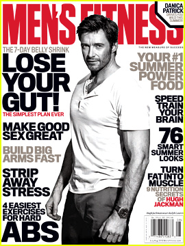 Hugh Jackman Covers 'Men's Fitness' July/August 2013
