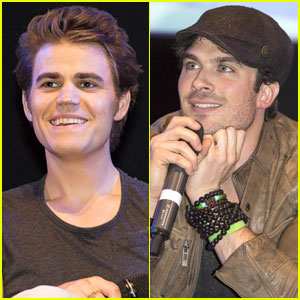 Ian Somerhalder & Paul Wesley: 'Vampire Diaries' at BloodyCon 2013