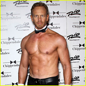 Ian Ziering: Shirtless Chippendales Debut!