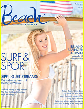 Ireland Baldwin Rocks Bikini for 'Modern Luxury Beach'