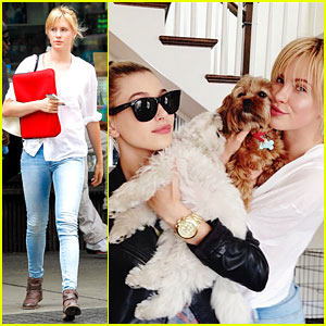 Ireland Baldwin: Puppy Love with Cousin Hailey!