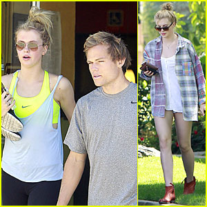 Ireland Baldwin & Slater Trout: Nails Pampering Session!