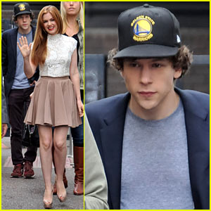 Isla Fisher & Jesse Eisenberg: 'Now You See Me' Promo Work!