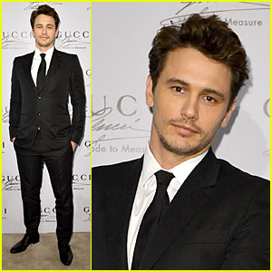 James Franco: Gucci Made to Measure Launch!