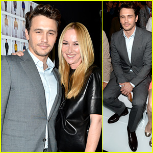 James Franco: Gucci Milan Fashion Show!