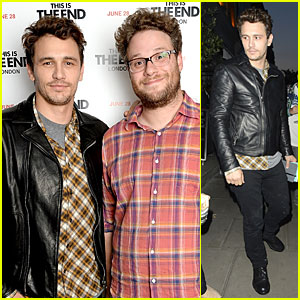 James Franco & Seth Rogen: 'This Is The End' London Screening!